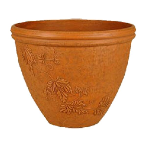 PSW Composite Pot Planter with Saucer by Arcadia Garden Products