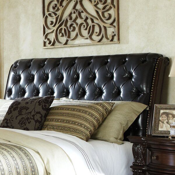 Churchill Upholstered Sleigh Headboard by Standard Furniture