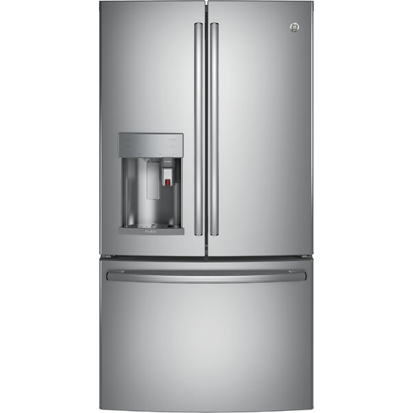 22.2 cu. ft. Energy Star® Counter Depth French Door Refrigerator with Keurig® K-Cup® Brewing System by GE Profile™