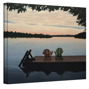 'Tranquility' by Ken Kirsch Photographic Print on Wrapped Canvas by Beachcrest Home