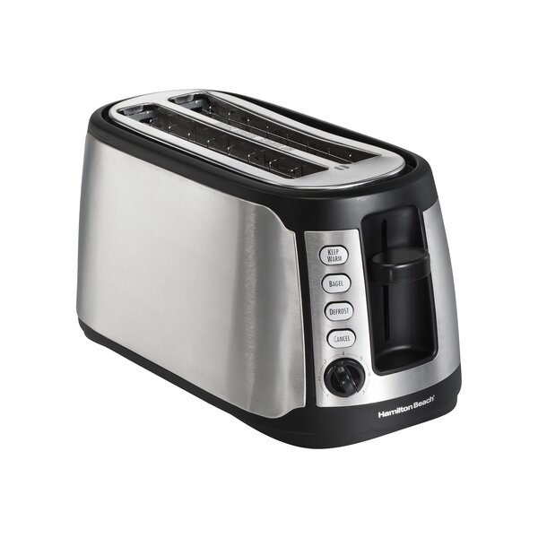 4 Slice Extra Wide Slot Toaster by Hamilton Beach