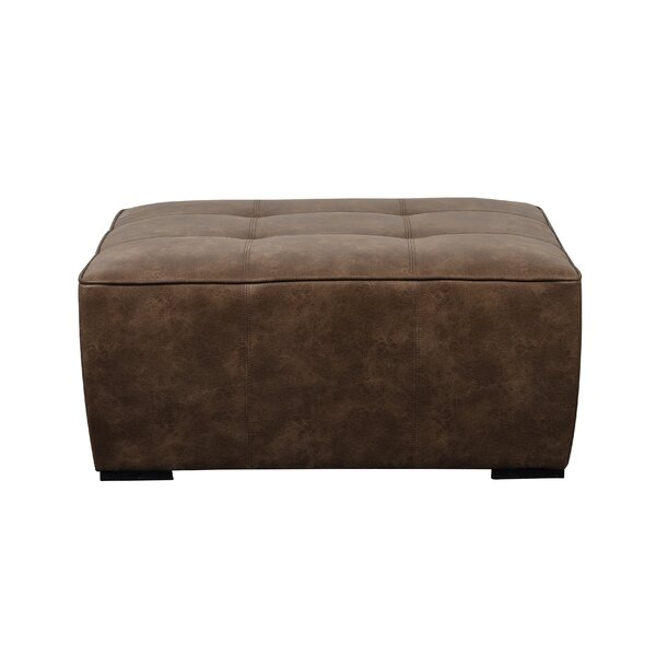 Stefan Tufted Ottoman by Millwood Pines