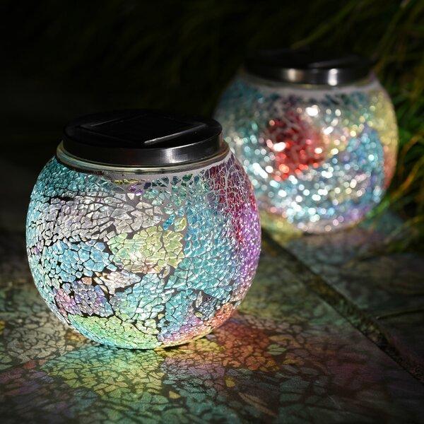 Mosaic Solar 2 Piece LED Landscape Lighting Set by Lightshare