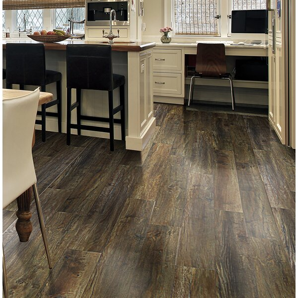 Rustica 6.5 x 48 x 12mm Oak Laminate Flooring in Berlin by Bellami