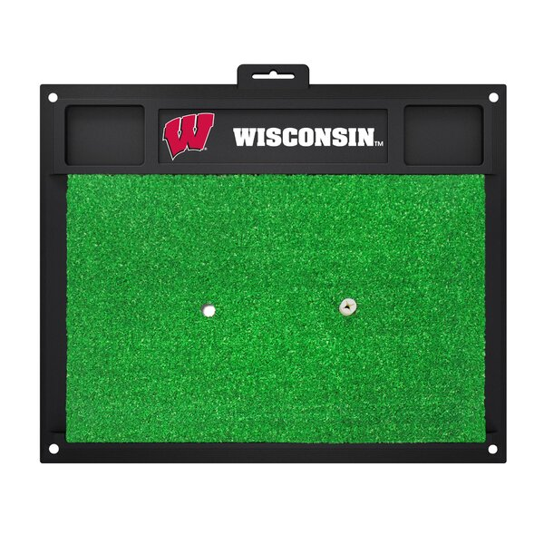 NCAA University of Wisconsin Golf Hitting Mat by FANMATS