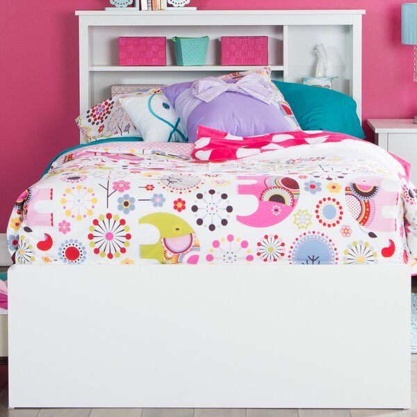 Northampt Twin Mates Bed with Drawers and Bookcase by Three Posts Teen