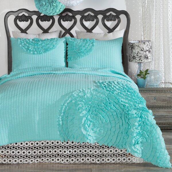 Halloway Rose Reversible Quilt Set by Ebern Designs