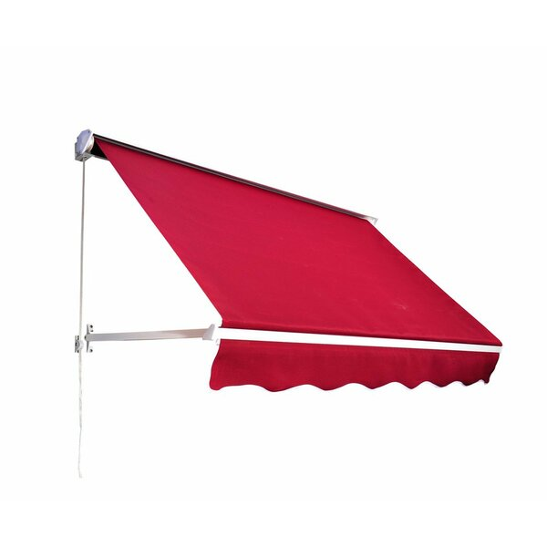Outsunny 6 ft. W x 5 ft. D Window Awning by Outsunny