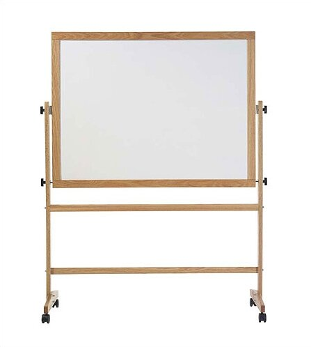 Pro-Rite Free-Standing Reversible Whiteboard by Marsh