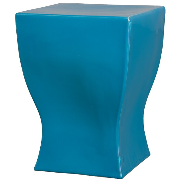 Brigida Square Garden Stool by Ebern Designs