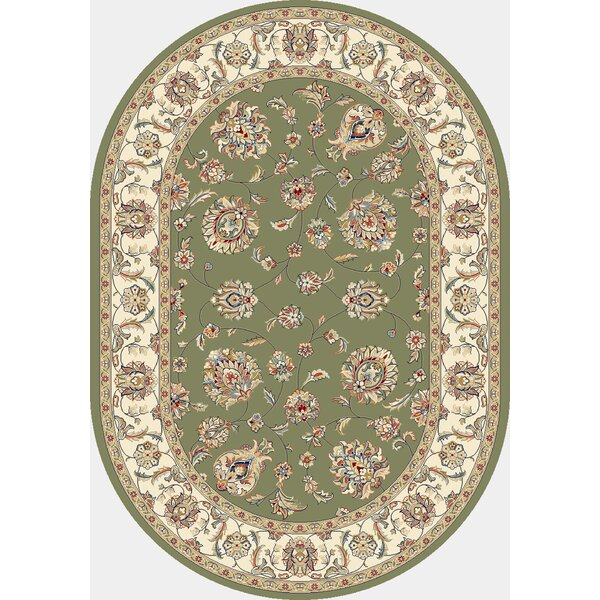 Attell Green/Ivory Area Rug by Astoria Grand