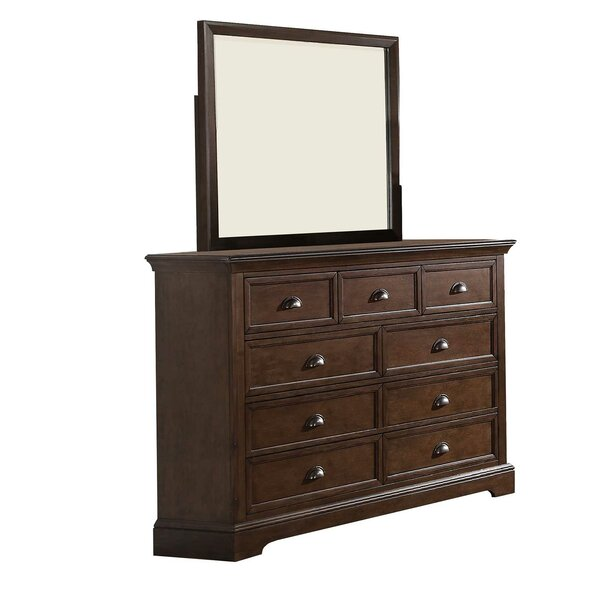 Appleby 7 Drawer Dresser with Mirror by Greyleigh