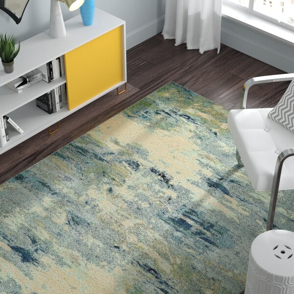 Chenango Blue Area Rug by Zipcode Design