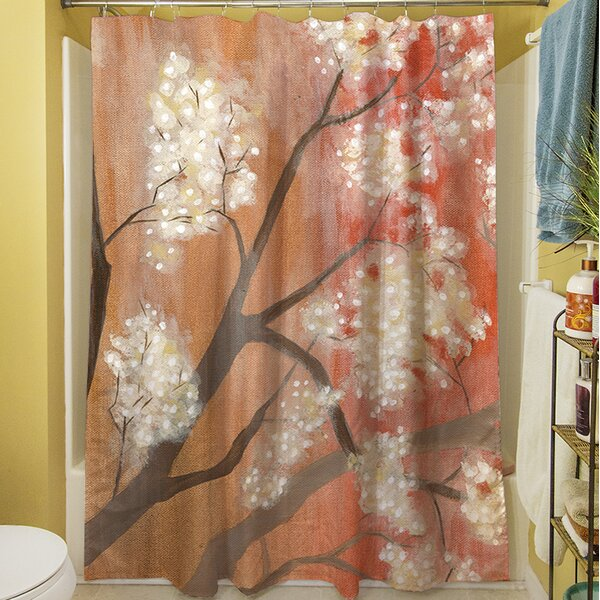 Mandarin Mist I Shower Curtain by Manual Woodworkers & Weavers