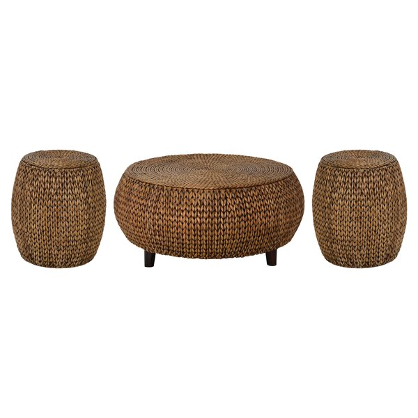 Nobles 3 Piece Coffee Table Set by Beachcrest Home Beachcrest Home