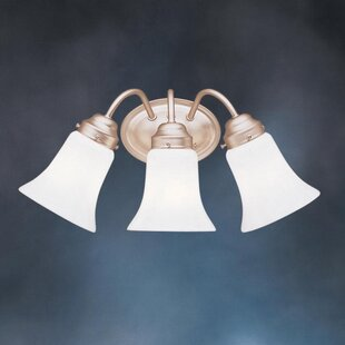 Buy clear 3-Light Vanity Light By Kichler