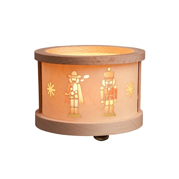 Richard Glaesser Smoking Man Luminary Tea Light by Alexander Taron