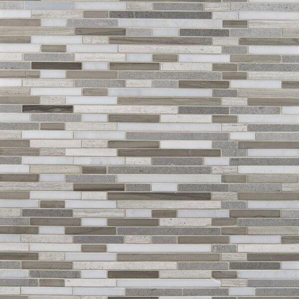 Arctic Storm Marble Mosaic Tile