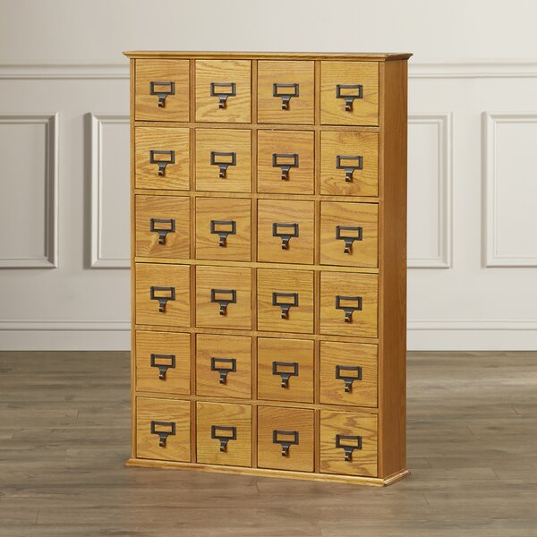 Shillington Multimedia Library Style Drawer by Thr