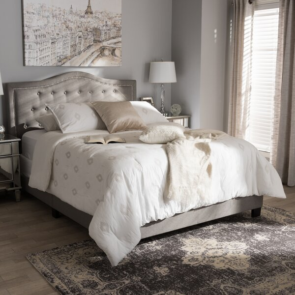 Roberto Fabric Upholstered Panel Bed by Wholesale Interiors