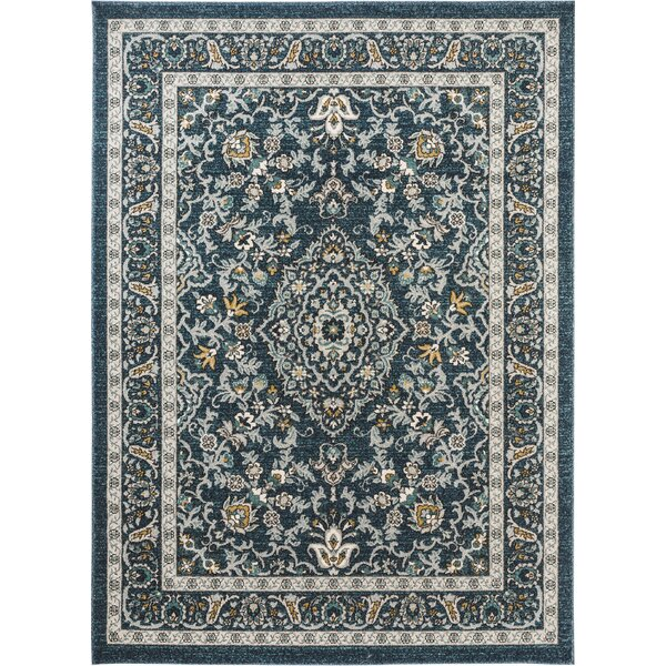 Duanesburg Navy Area Rug by Alcott Hill