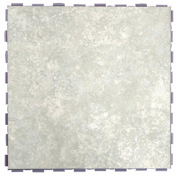 Classic Standard 12 x 12 Porcelain Field Tile in Mist by SnapStone