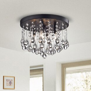 Coupon Alya 4-Light LED Flush Mount By Willa Arlo Interiors