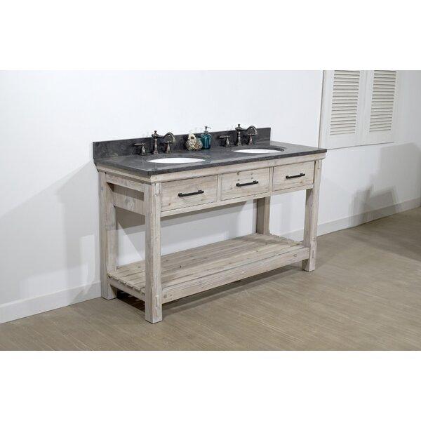 Alana 61 Double Bathroom Vanity Set by Millwood Pines