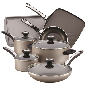 17 Piece Non-Stick Cookware Set