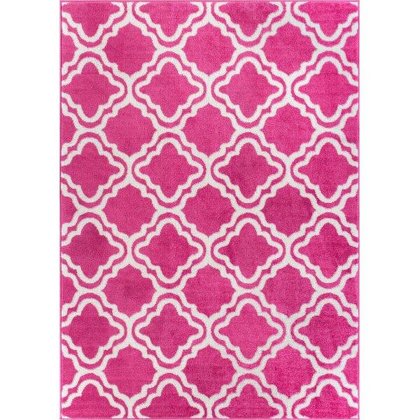 Juliet Calipso Pink Area Rug by Viv + Rae