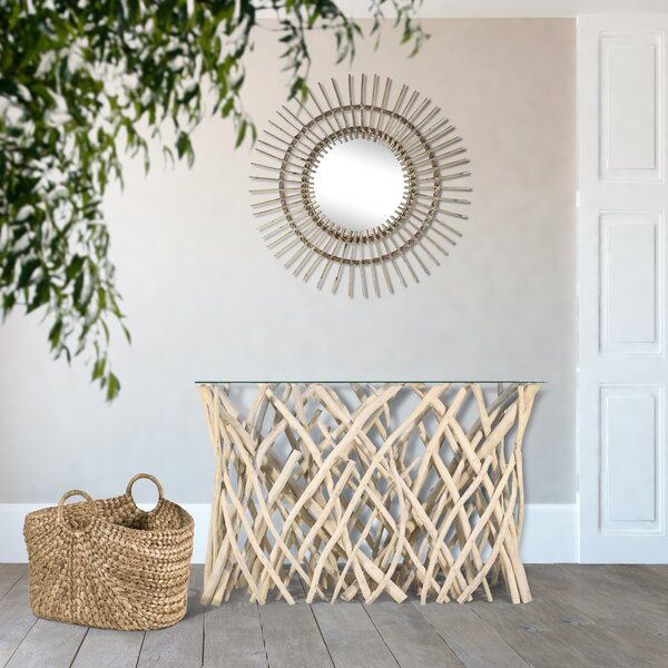 Natural Branch Console Table By Ibolili