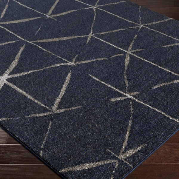 Danny Blue Area Rug by Williston Forge
