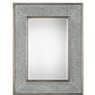 House of Hampton Branch Draven Textured Accent Mirror