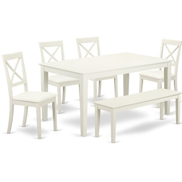 #1 Smyrna 6 Piece Dining Set By Charlton Home Purchase