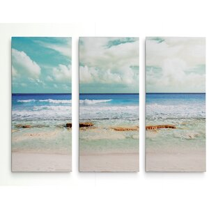 'Cancun Magic II' Graphic Art Print Multi-Piece Image on Gallery Wrapped Canvas by Highland Dunes
