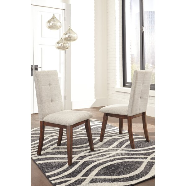 Irving Upholstered Dining Chair (Set of 2) by Modern Rustic Interiors