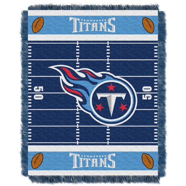NFL Titans Field Baby Blanket by Northwest Co.