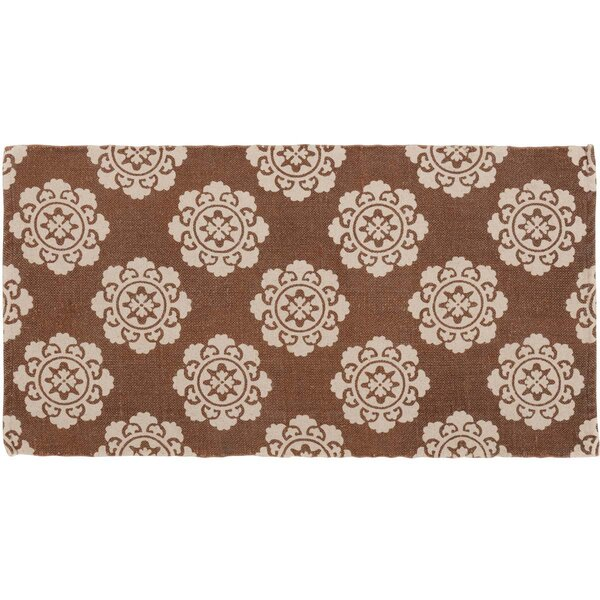 Ross Orange Area Rug by Bungalow Rose