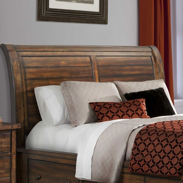 Headrick Creek Sleigh Headboard by Darby Home Co