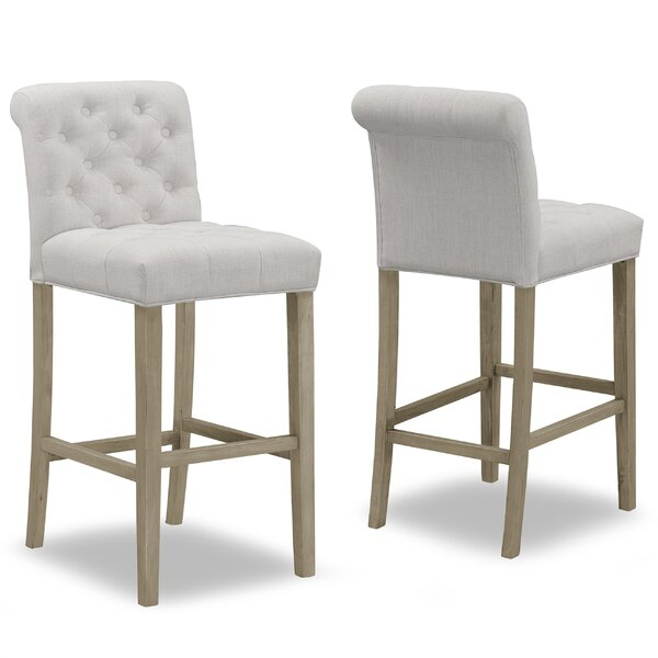 Geremia 29 Bar Stool (Set of 2) by One Allium Way