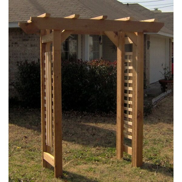 Deluxe Classic Wood Arbor by Threeman Products