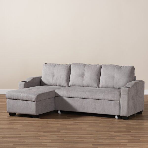 Loya Left Hand Facing Sectional By Ivy Bronx