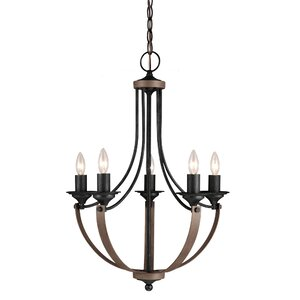 Kenna 5-Light Mini Chandelier