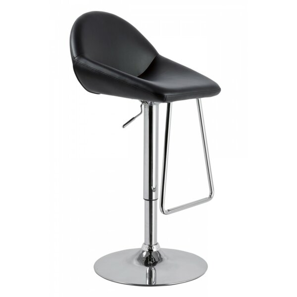 Camron Adjustable Height Metal Framed Swivel Bar Stool by Orren Ellis