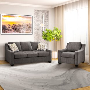 Laiana 2 Pieces Fabric Sofa And Chair Set by Red Barrel Studio®
