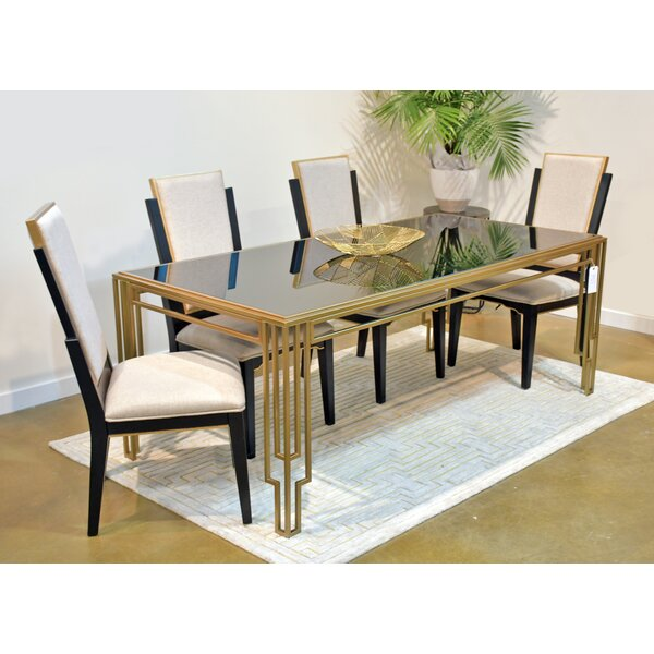 Drakeford 5 Piece Dining Set by Everly Quinn