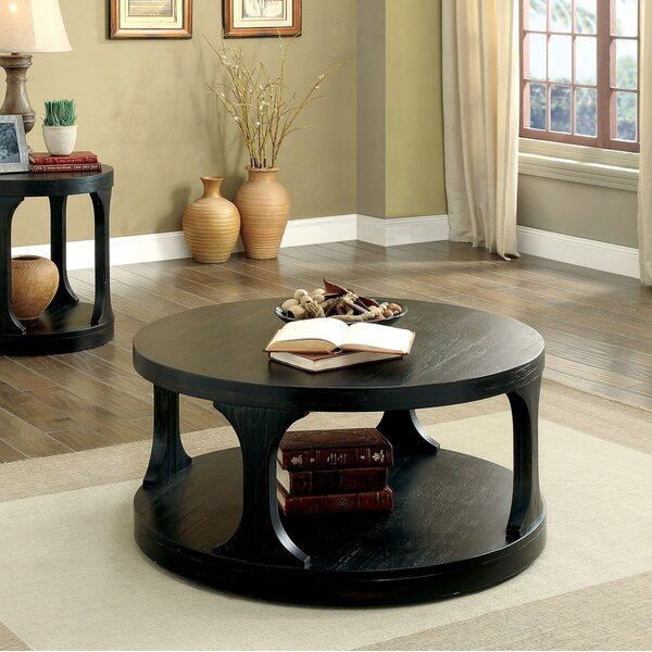 Borup Floor Shelf Coffee Table With Storage By Darby Home Co