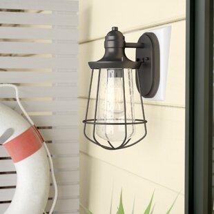 Windon 1-Light Outdoor Wall Lantern By Breakwater Bay Outdoor Lighting