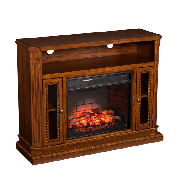 Pembroke 47 TV Stand with Fireplace by Darby Home Co