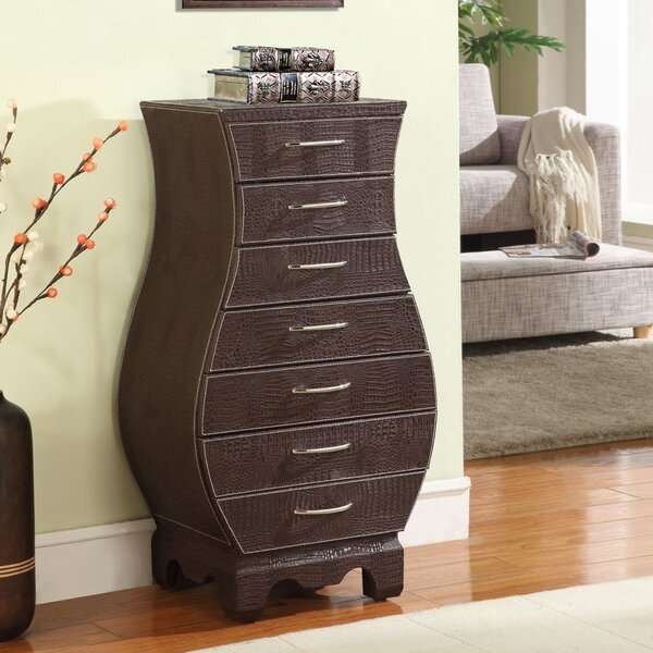 Coco Jewelry Armoire with Mirror by Wildon Home ®